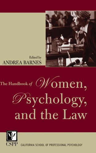 9780787970604: The Handbook of Women, Psychology, and the Law