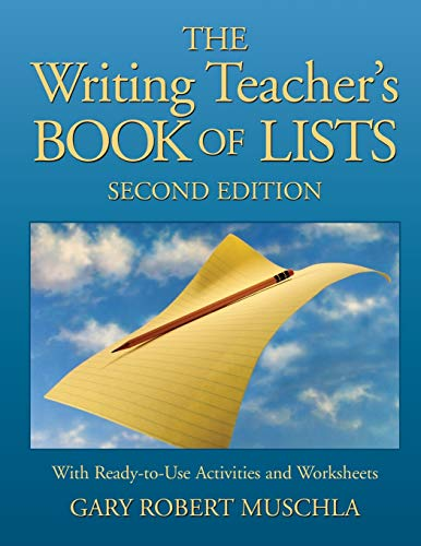 9780787970802: The Writing Teacher's Book of Lists with Ready-to-Use Activities and Worksheets , 2nd Edition