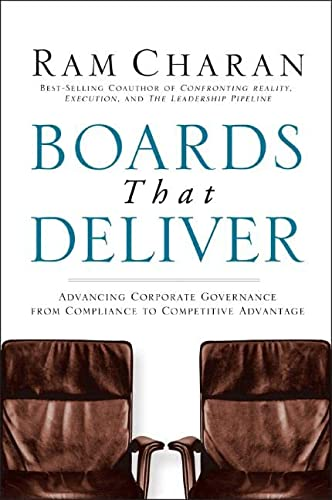 9780787971397: Boards That Deliver: Advancing Corporate Governance From Compliance to Competitive Advantage