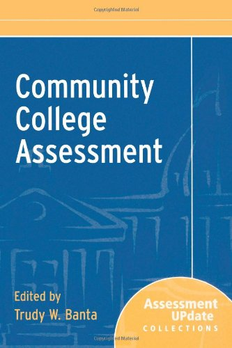 9780787972875: Community College Assessment: Assessment Update Collections