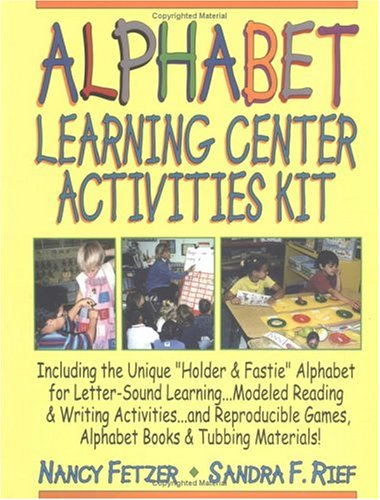 9780787972998: Alphabet Learning Center Activities Kit [With Alphabet Chart]