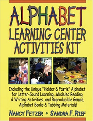 9780787973452: Complete Spiral Alphabet Learning Center Activities Kit