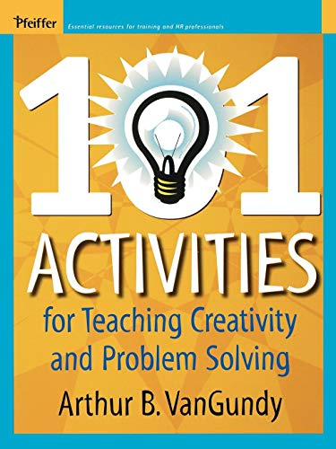 9780787974022: 101 Activities for Teaching Creativity
