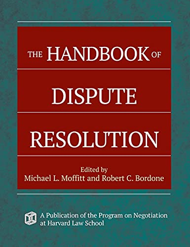 9780787975388: The Handbook of Dispute Resolution