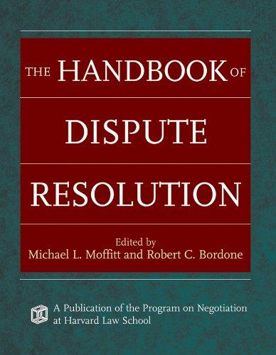 9780787975388: The Handbook of Dispute Resolution