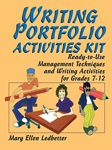 9780787975562: Writing Portfolio Activities Kit: Ready-to-Use Management Techniques and Writing Activities for Grades 7-12