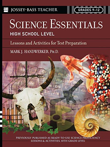 9780787975753: Science Essentials, High School Level: Lessons and Activities for Test Preparation
