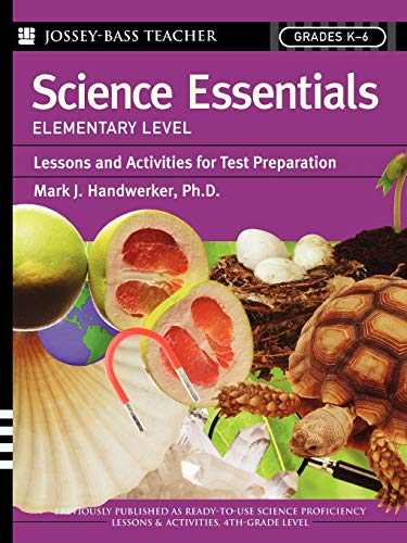 9780787975760: Science Essentials, Elementary Level: Lessons and Activities for Test Preparation