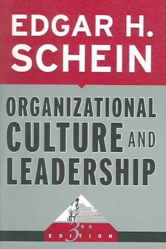 9780787975975: Organizational Culture and Leadership (J-B US non-Franchise Leadership)