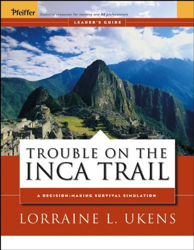 9780787976040: Trouble on the Inca Trail: Leader's Guide