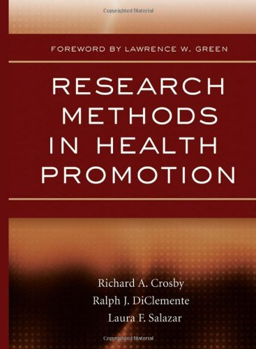 9780787976798: Research Methods in Health Promotion