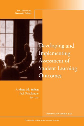 9780787976873: Developing and Implementing Assessment of Student Learning Outcomes: New Directions for Community Colleges, Number 126
