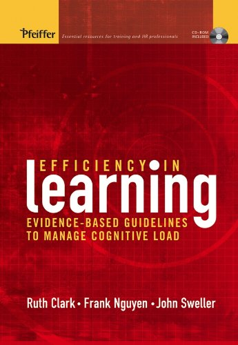Efficiency in Learning: Evidence-Based Guidelines to Manage: Ruth C. Clark,
