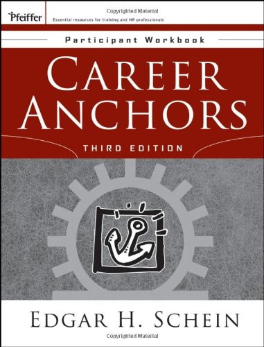 9780787977597: Career Anchors: Participant Workbook (J-B US Non-Franchise Leadership)