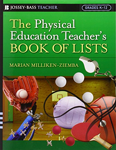 9780787978877: The Physical Education Teacher's Book of Lists (J-B Ed: Book of Lists)