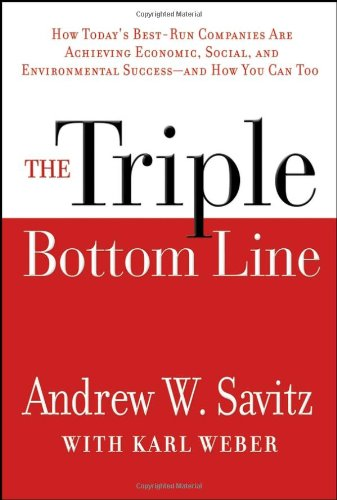 9780787979072: The Triple Bottom Line: How Today's Best-Run Companies Are Achieving Economic, Social and Environmental Success -- And How You Can Too