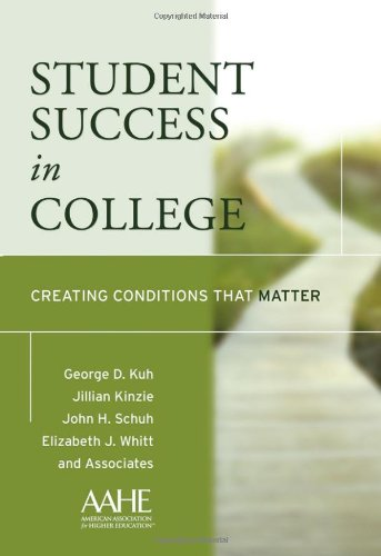 9780787979140: Student Success in College: Creating Conditions That Matter