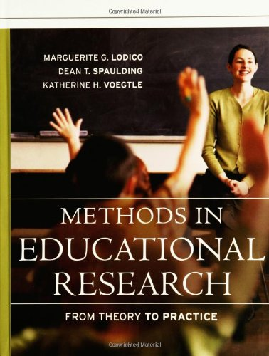9780787979621: Methods in Educational Research: From Theory to Practice (Research Methods for the Social Sciences)
