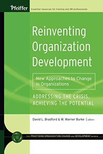 9780787981181: Reinventing Organization Development: New Approaches to Change in Organizations