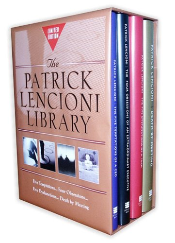 9780787981501: Patrick Lencioni Library(for Amazon only