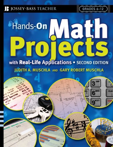 9780787981792: Hands-On Math Projects With Real-Life Applications: Grades 6-12