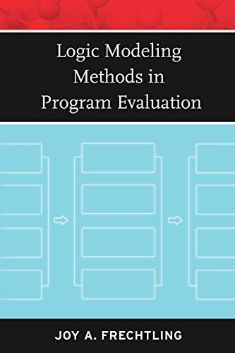 9780787981969: Logic Modeling Methods in Program Evaluation (Research Methods for the Social Sciences)