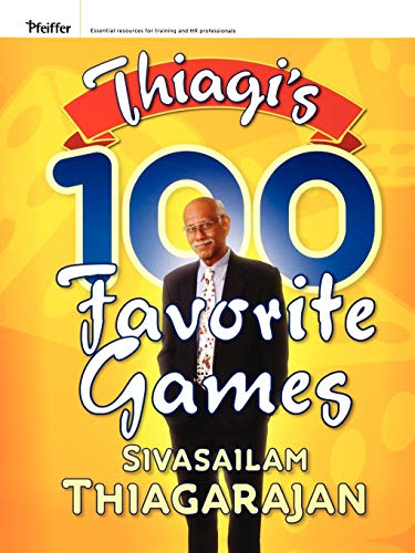 9780787981990: Thiagi's 100 Favorite Games