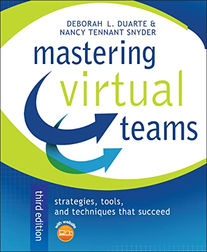 9780787982805: Mastering Virtual Teams: Strategies, Tools, and Techniques That Succeed