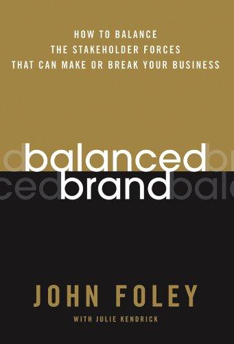 Balanced Brand: How to Balance the Stakeholder: John Foley, Julie