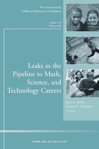 Leaks in the Pipeline to Math, Science,: Child & Adolescent