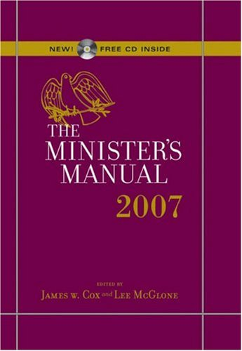 9780787984571: Minister's Manual