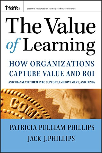 9780787985325: The Value of Learning: How Organizations Capture Value and ROI and Translate It into Support, Improvement, and Funds