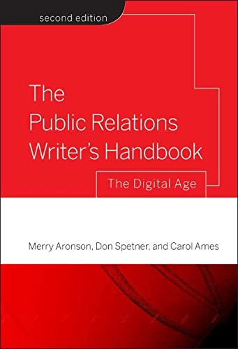 9780787986315: The Public Relations Writer's Handbook: The Digital Age