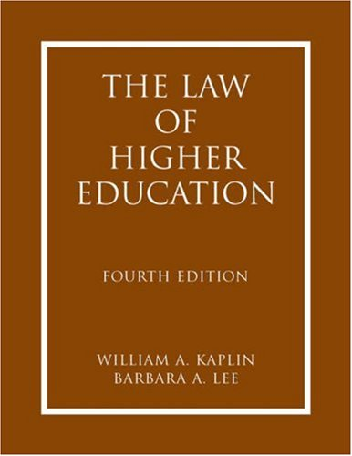 9780787986599: The Law of Higher Education 2 Volume-set