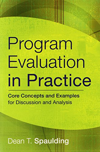 9780787986858: Program Evaluation in Practice: Core Concepts and Examples for Discussion and Analysis