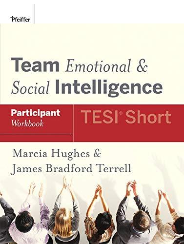 9780787988456: Team Emotional and Social Intelligence (TESI Short) Participant Workbook
