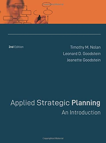9780787988524: Applied Strategic Planning: An Introduction