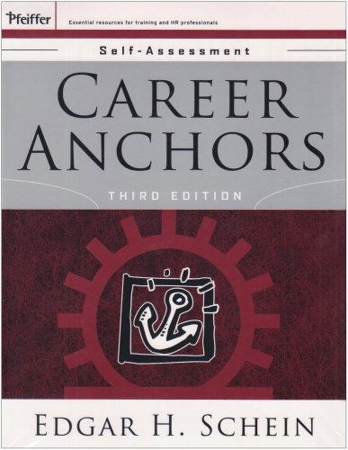 9780787994389: Career Anchors Participants Workbook and Self Set