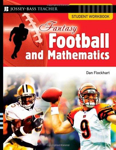 9780787994488: Fantasy Football and Mathematics: Student Workbook