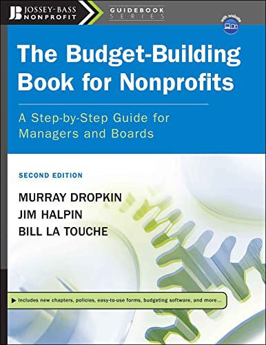 9780787996031: The Budget-Building Book for Nonprofits: A Step-by-Step Guide for Managers and Boards