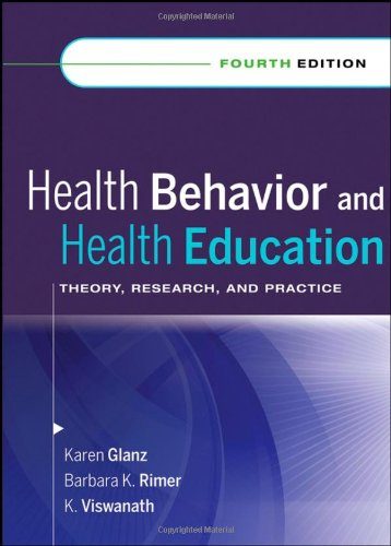 9780787996147: Health Behavior and Health Education: Theory, Research, and Practice