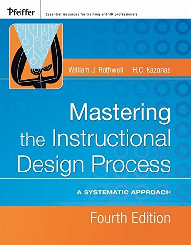9780787996468: Mastering the Instructional Design Process: A Systematic Approach