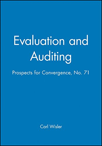 Evaluation and Auditing: Prospects for Convergence: New