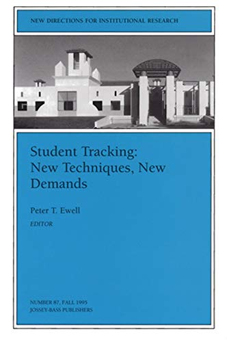 9780787999438: Student Tracking: New Techniques, New Demands: New Directions for Institutional Research, Number 87 (J-B IR Single Issue Institutional Research)