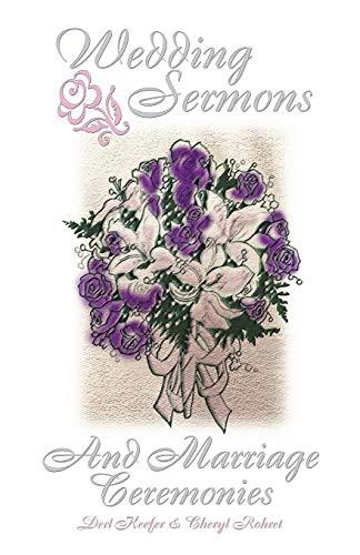 9780788015731: Wedding Sermons and Marriage Ceremonies