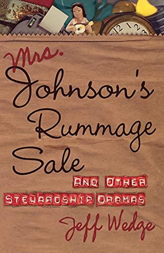 Mrs. Johnson's Rummage Sale: Jeff Wedge
