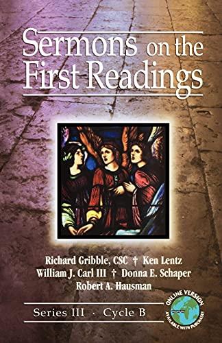 9780788025426: Sermons on the First Readings: Series III, Cycle B