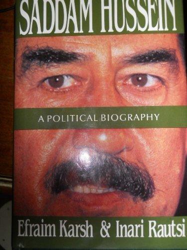 9780788151101: Saddam Hussein: A Political Biography