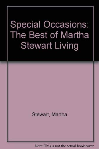 9780788156052: Special Occasions: The Best of Martha Stewart Living