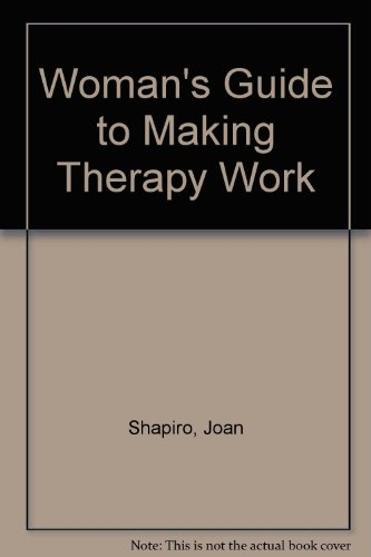 9780788157714: Woman's Guide to Making Therapy Work